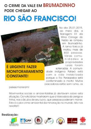 capa folder Brumadinho 2