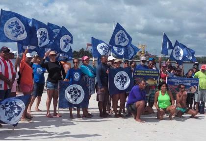Pescadores averiguam pesquisa sísmica em Pernambuco