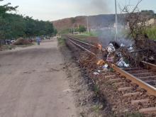 Paralisação ferrovia ES